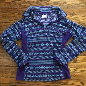 Columbia fleece pullover sz. M